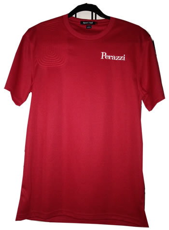 Moisture Management Tee Red