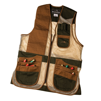 Heatwave Mesh Vest -- Forest Green & Brown
