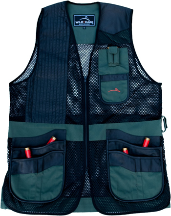 Range Vest Hunter Green & Black