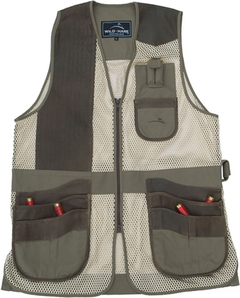 Range Vest Sage & Brown